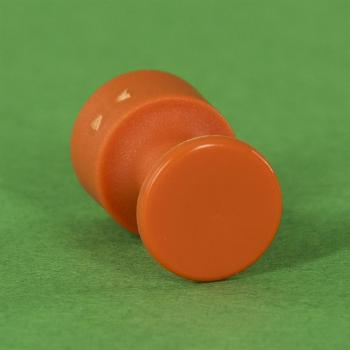 Kunststoffverbinder Ø12 mm orange